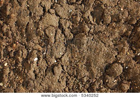 Textur des Bodens