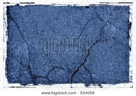 Pavement Background Texture With Frame