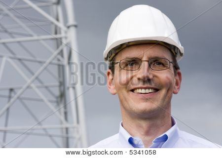 Engineer With Hardhat