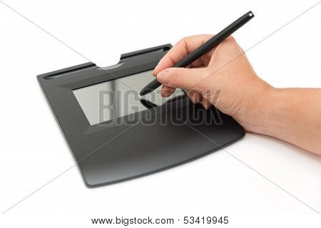Digital Signature On Sign Pad