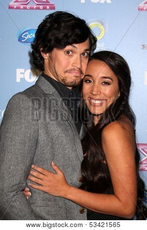 LOS ANGELES - NOV 4:  Alex & Sierra - Alex Kinsey, Sierra Deaton at the 2013