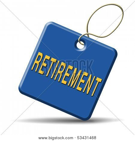 retirement ahead retire fund or plan golden years