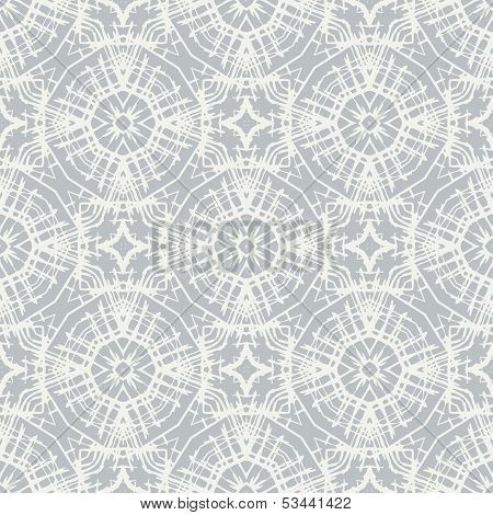 white lace, simple vector pattern