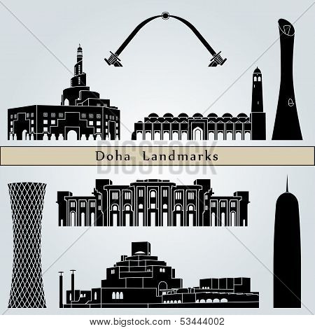 Doha Landmarks And Monuments