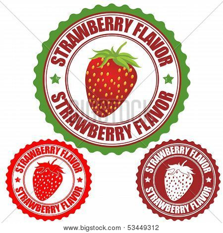 Strawberry Flavor Stamp
