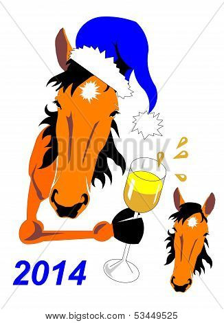 Horse New Year's