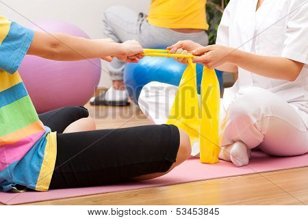 Exercices With The Patient