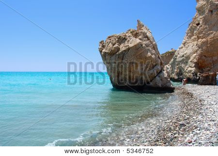 Rock Of Aphrodite Or Petra Tou Ramiou