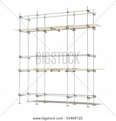 Iron scaffold