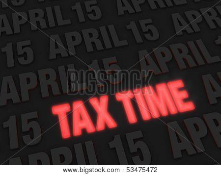 Tax Time Warning