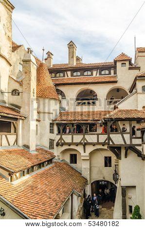 Bran Castle Inside