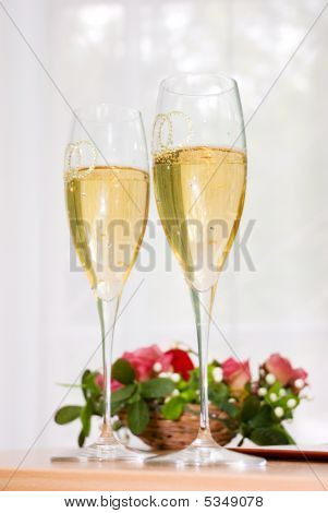 Beautiful Wedding Glasses