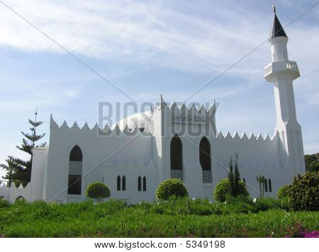 Mosque In Marbella, Spain