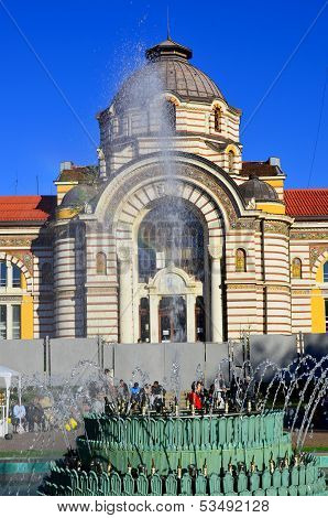 Sofia Public Mineral Baths