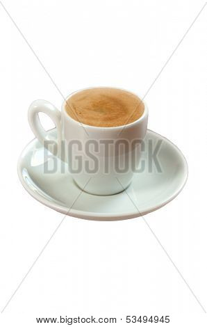 isolated coffe photograph