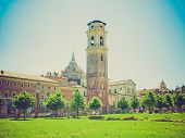 stock photo of torino  - Vintage looking The Turin Cathedral  - JPG