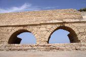 Architectural Arches-aqueduct.caesarea.israel