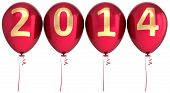 picture of helium  - 2014 New Year balloons party decoration - JPG