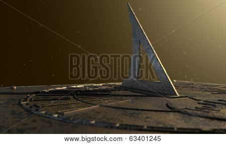Sundial Lost In Time