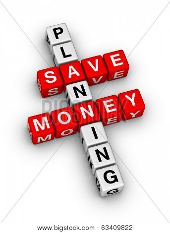 save money planning crossword puzzle