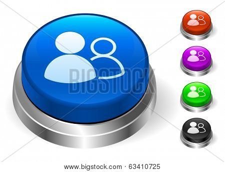 User Group Icons on Round Button Collection
