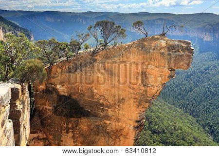 Hanging Rock Blue Mountains Australia