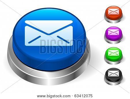 Envelope Icons on Round Button Collection