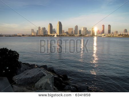 San Diego - Sunset Reflection