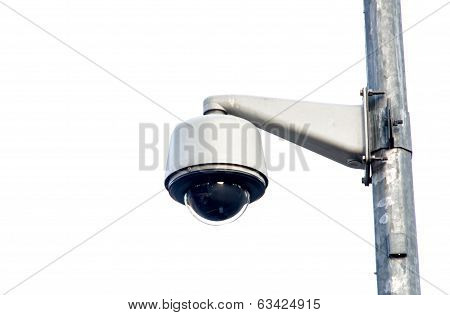 Cctv,security Camera To Monitor The Crossings Citizens