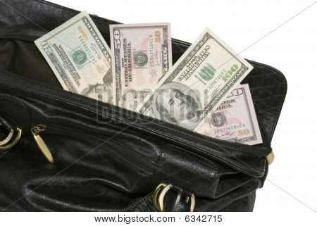 Money In Big Bag