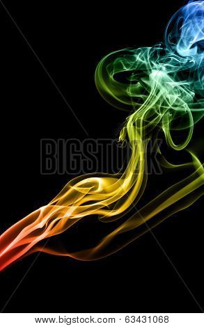 Mistery beautiful smoke