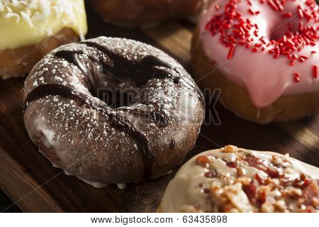Assorted Homemade Gourmet Donuts