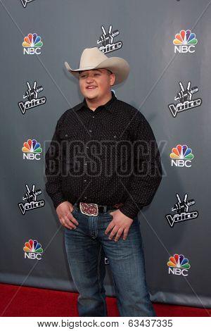 LOS ANGELES - APR 15:  Jake Worthington at the NBC's