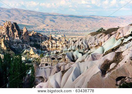 Uchisar In Cappadocia