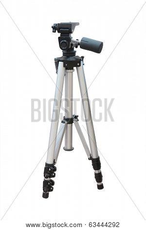 tripod under the white background