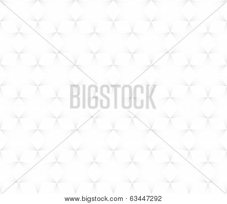 Vector Seamless Pattern - Hexagons Gray Abstract Simple Quirky Background