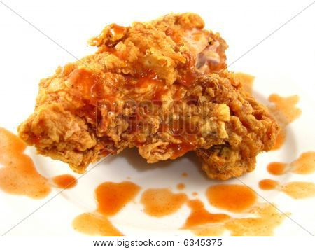 Fried Chicken with Hot Sauce