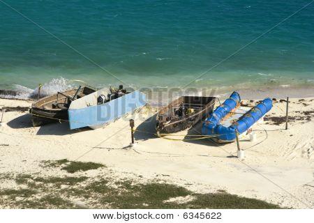 Boats Of Cuban Immigrants