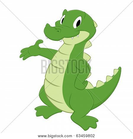 Cartoon Crocodile