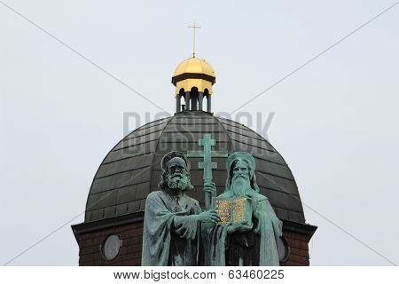 Statue Of Saint Cyril And Methodius
