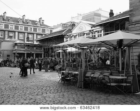 Black And White Covent Garden London
