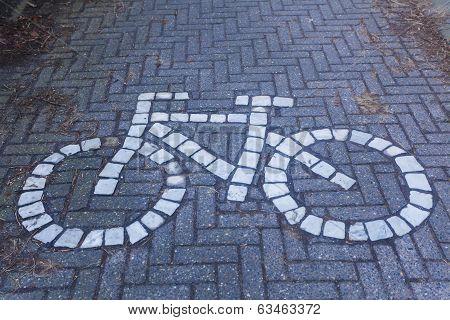 Cyclist Information Sign Bruges
