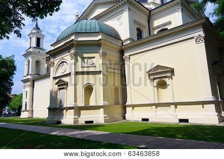 Warsaw, Neo-renaissance Church In Wilanow