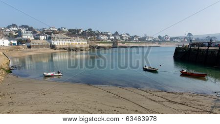 St Mawes harbour Cornwall England UK