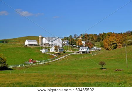 Landscape of Amish Country