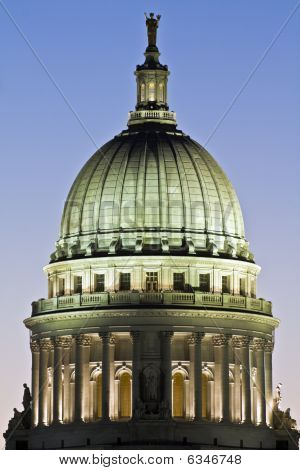 Dome Of State Capitol