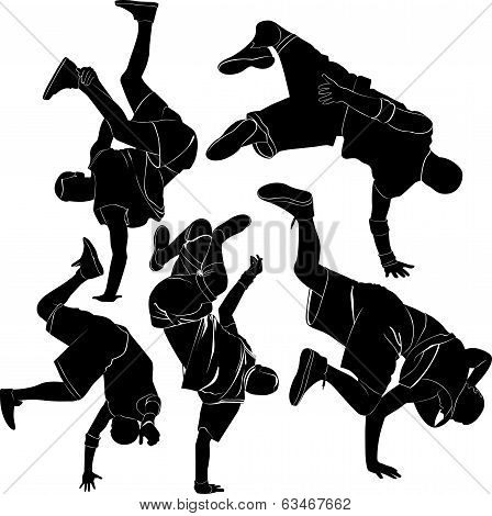 collection breakdance break dance