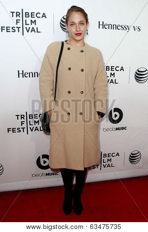 NEW YORK-APR 16: Actress Jemima Kirke attends the world premiere of