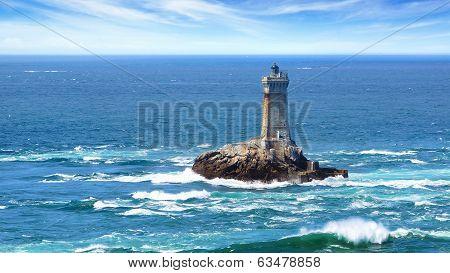 Lighthouse on Cape Sizun, Pointe du Raz.