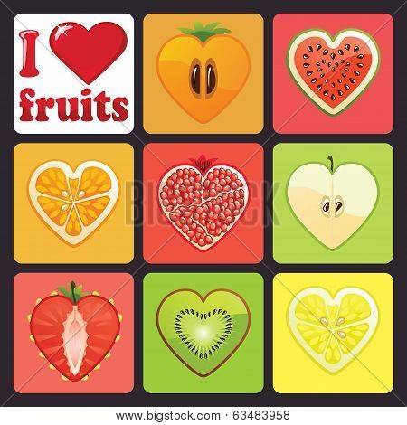 love and fruits